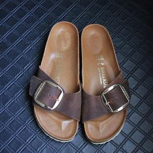 Birkenstock Big Buckle Slide Sandal